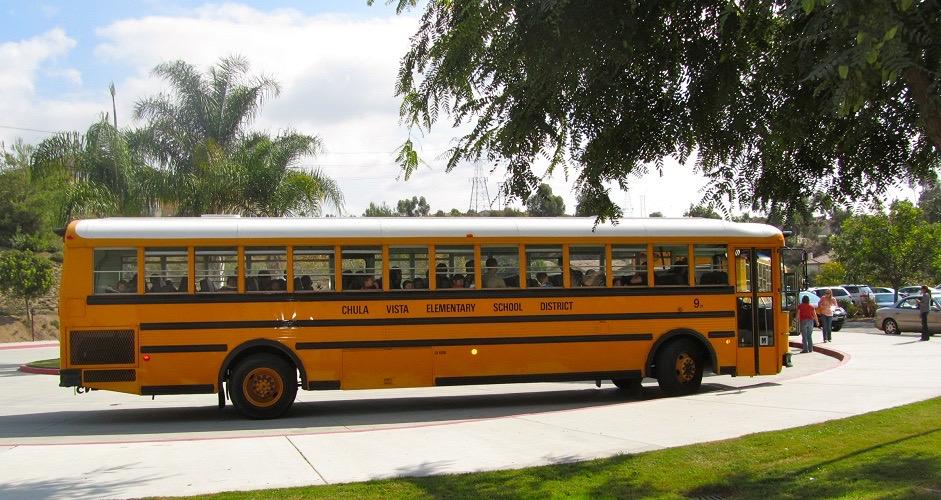 Chula Vista ESD School Bus