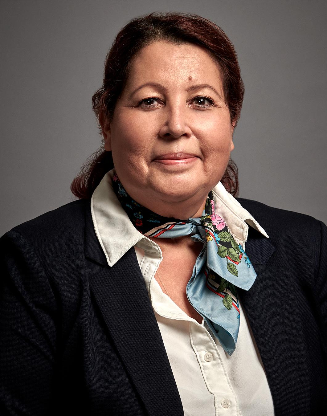 Olga Schriefer; Senior Site Interviewer