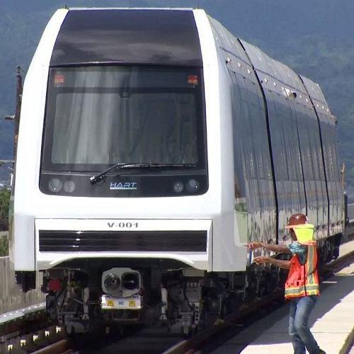 Honolulu Authority for Rapid Transportation (HART) train
